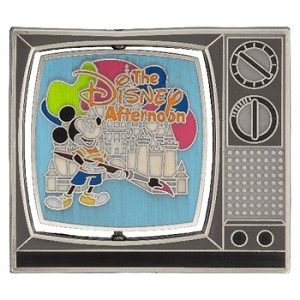 Disney Afternoon Spinner Pin - Front