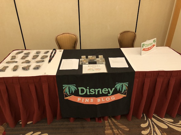 Disney Pins Blog Table