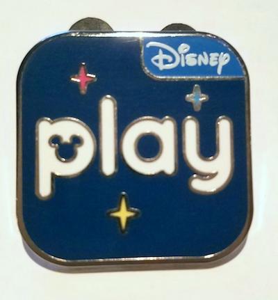 Play Disney Parks App Pin