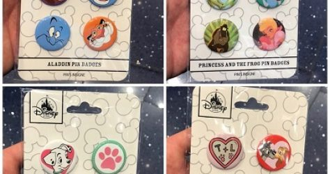 Disney Store UK Button Sets