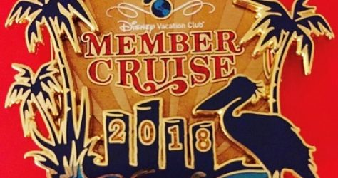Disney Vacation Club Member Cruise 2018 Pin