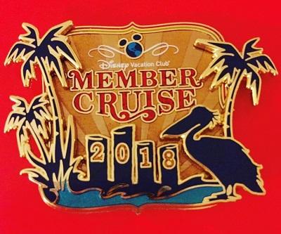 Disney Vacation Club Member Cruise 2018 Pin