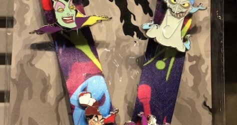 Disney Villains Pin Trading Starter Set Pins