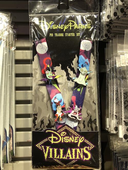 Disney Villains Pin Trading Starter Set