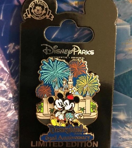Disneyland 63rd Anniversary Cast Member Pin
