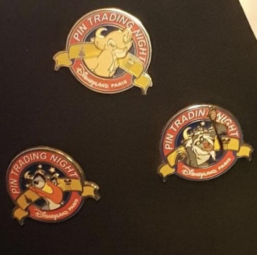 Disneyland Paris Pin Trading Night The Lion King Pins
