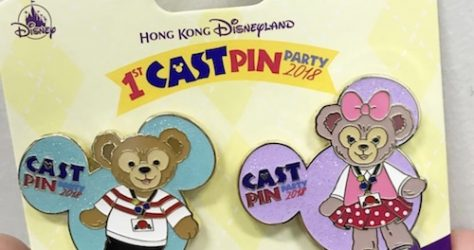 Duffy Bear and Shellie May Cast Pin Party 2018 Pin Set