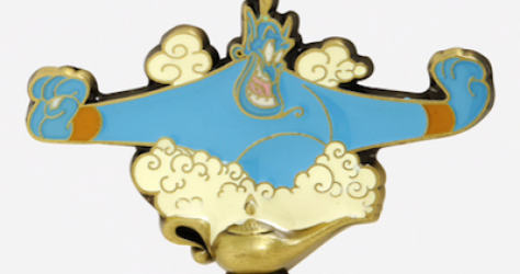 Genie Magic Lamp BoxLunch Disney Pin