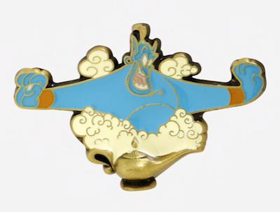 Genie Magic Lamp BoxLunch Disney Pin