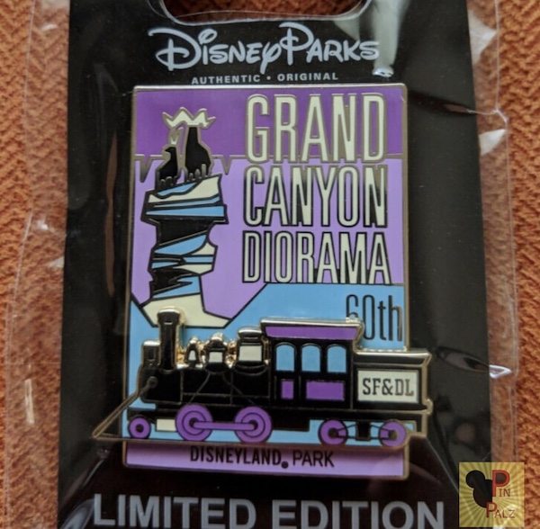 Grand Canyon Diorama 60th Cast Member Pin