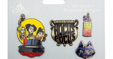Hocus Pocus Pin Set - shopDisney 2018