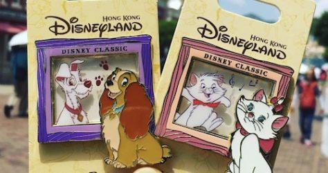 Hong Kong Disney Classic Pin Series 2
