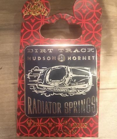 Hudson Hornet Radiator Springs Pin