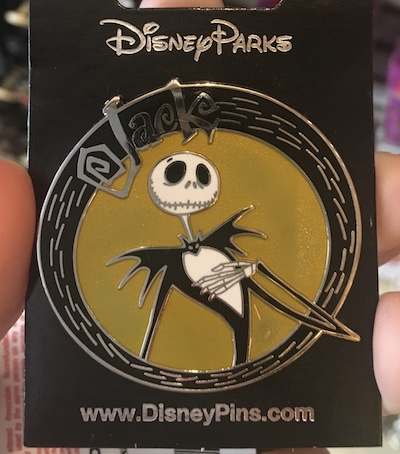 Jack Disney Pin