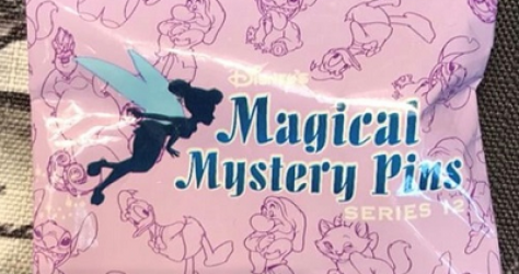 Magical Mystery Series 12 Backpack Pins