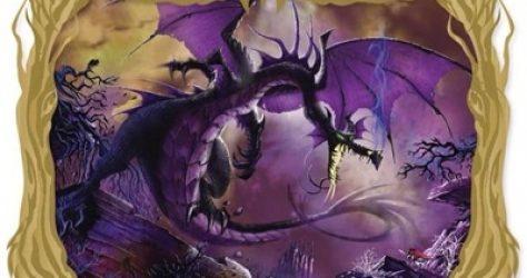 Maleficent Dragon Fantastic Lands II Acme Pin