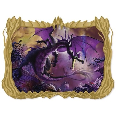 Maleficent Dragon Fantastic Lands II Acme Pin