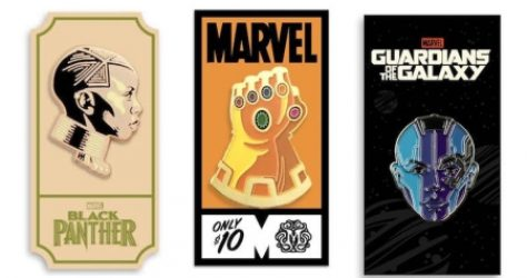 Marvel Mondo Pins