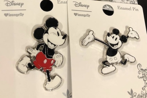 Mickey Mouse BoxLunch Disney Pins