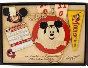 Mickey Mouse Club Box Set - Channel 28 Pins