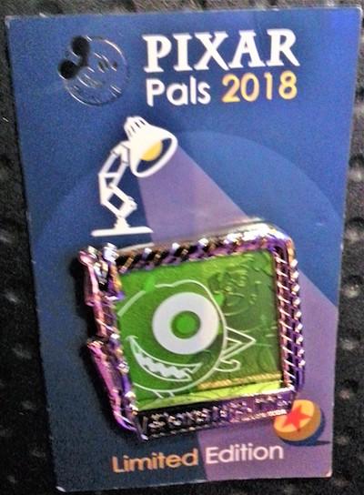 Monsters University Pixar Fest AP Pin
