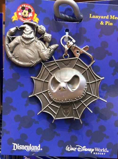 Nightmare Before Christmas Lanyard Medal & Pin