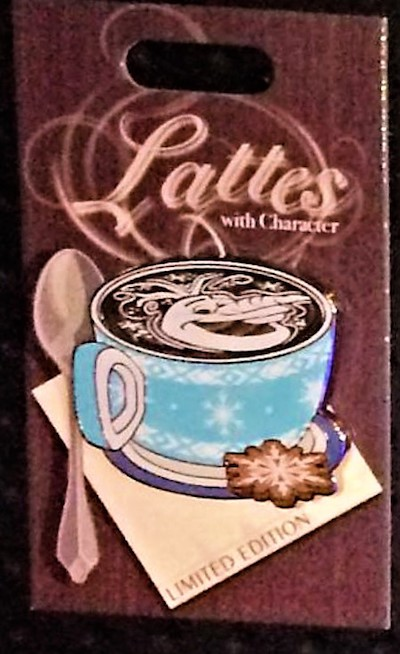 Olaf Lattes with Character Pin