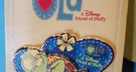 Olu Disney Pin A Friend of Duffy Aulani