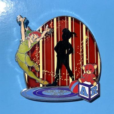Peter Pan Shadow Park Pack Disney Pin