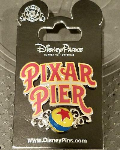 Pixar Pier Disney Pin