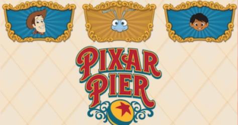 Pixar Pier WDI Mystery Pins