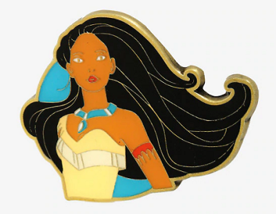 Pocahontas BoxLunch Disney Pin