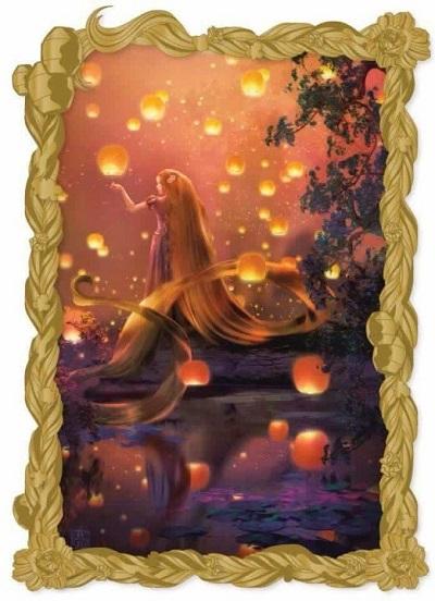 Rapunzel Fantastic Lands II Acme Pin