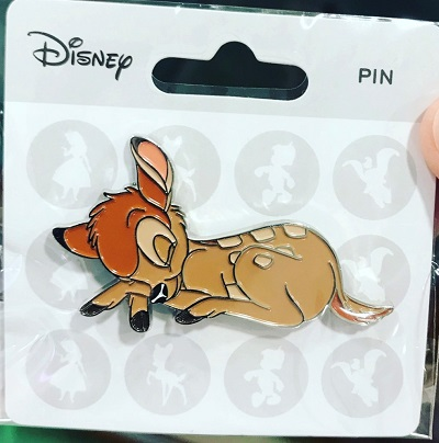 Sleeping Bambi Disney Pin