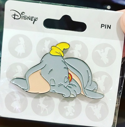 Sleeping Dumbo Disney Pin