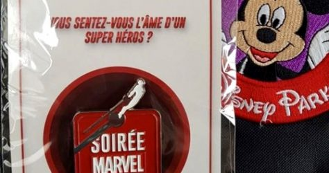 Soiree Marvel 2018 Disneyland Paris Pin