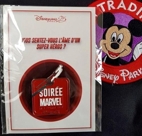 Soiree Marvel 2018 Disneyland Paris Pin
