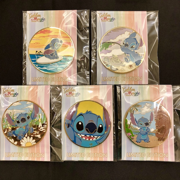 Stitch Golden Magic LE 300 Pin Set