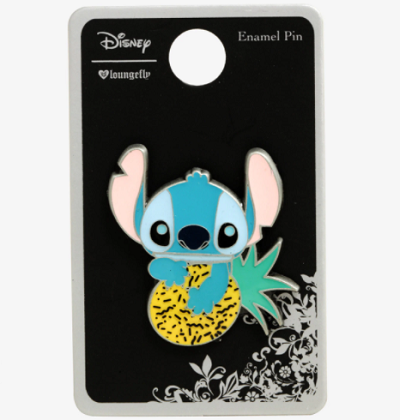 Stitch Pineapple Loungefly Pin - Hot Topic