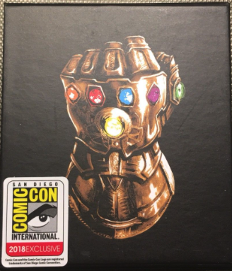 Thanos Infinity Gauntlet 3D Pin at SDCC 2018