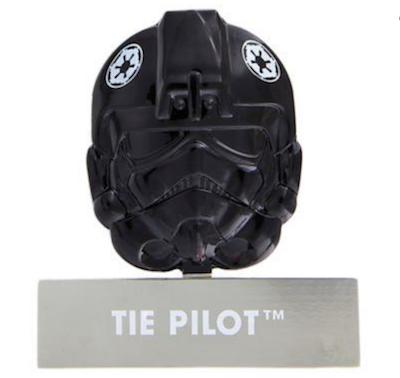Tie Pilot Helmet Disney Pin