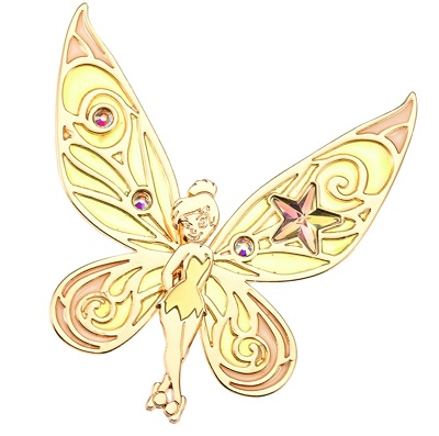 Tinker Bell Gold Pin - Disney Store Japan