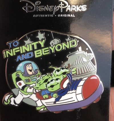 Toy Story Space Mountain Pin