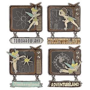 Wonderful World of Disney Box Set - Channel 28 Pins