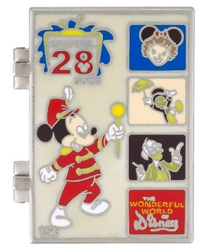 Wonderful World of Disney Guide Pin - Front