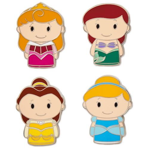 itty bittys Disney Princess Pin Set 2018