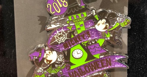 2018 Mickey's Halloween Party Pins
