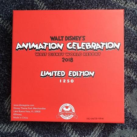 Animation Celebration Goodbye Pin Box