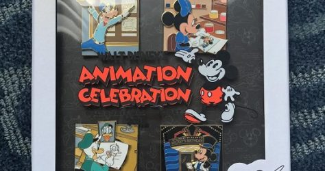 Animation Celebration Goodbye Pin Set