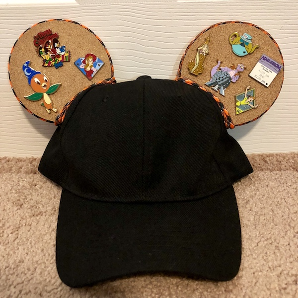 Baseball Cap Pin Ears